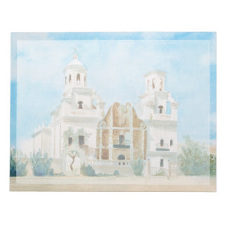 Bloc-note Mission San Xavier del Bac