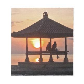 Bloc-note Moring en île de Bali