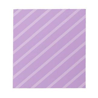 Bloc-note Motif géométrique abstrait - pourpre