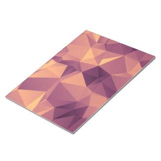 Bloc-note Motif lilas géométrique de fractale