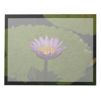 Bloc-note Nénuphar pourpre de Lotus