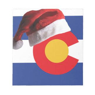 Bloc-note Noël dans le Colorado