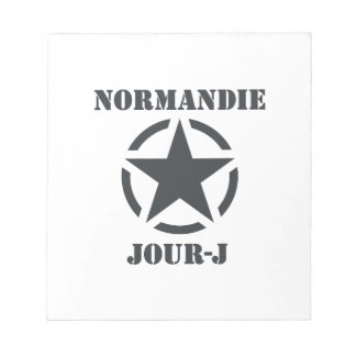 Bloc-note Normandie Jour-J