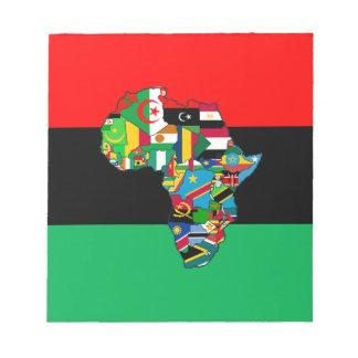 Bloc-note Panafricain je suis plus que la conception de