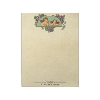 Bloc-note Papier vintage fait sur commande victorien vintage