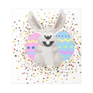 Bloc-note Pâques, colorée, lapin, drôle