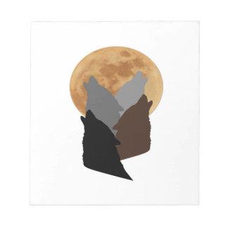 Bloc-note Par la lumière de la lune