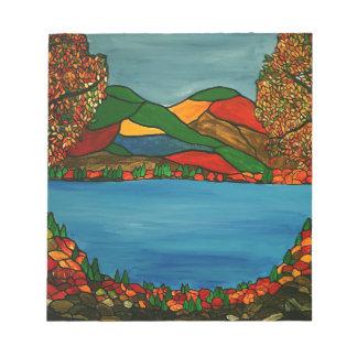 Bloc-note Paysage d'automne