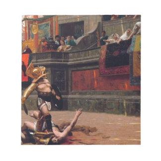 Bloc-note Peinture de verso de Pollice