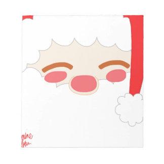 Bloc-note Père Noël 1