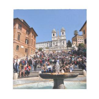 Bloc-note Piazza di Spagna, Rome, Italie