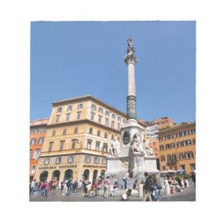 Bloc-note Piazza Navona à Rome, Italie