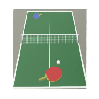 Bloc-note ping-pong