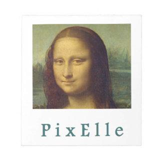 Bloc-note Pixelle femme