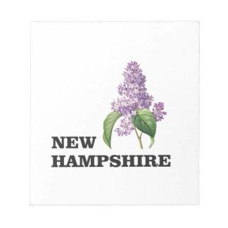 Bloc-note plus du New Hampshire