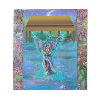 Bloc-note Poissons magiques féeriques rêveurs Koi de dragon