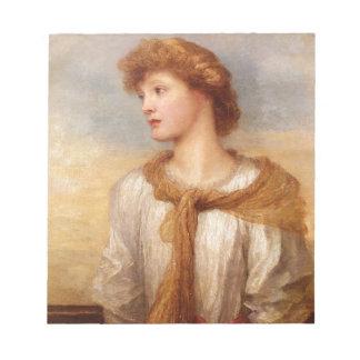 Bloc-note Portrait de Mlle Lillian Macintosh