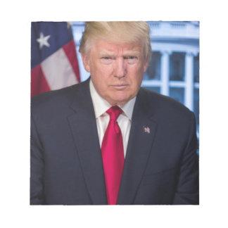 Bloc-note Pour des fans du Président Donald Trump