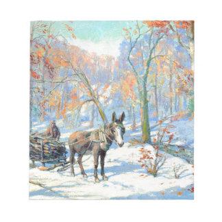 Bloc-note Récolte d'automne de l'impressionisme  