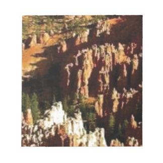 Bloc-note regard naturel de désert