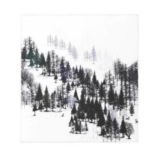 Bloc-note Ridge des arbres