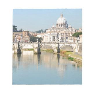 Bloc-note Rome, Italie