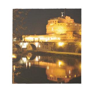Bloc-note Rome, Italie la nuit