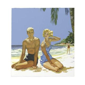 Bloc-note Scène de plage