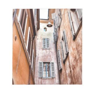 Bloc-note Scène de ville de l'Italien IMG_1785 2
