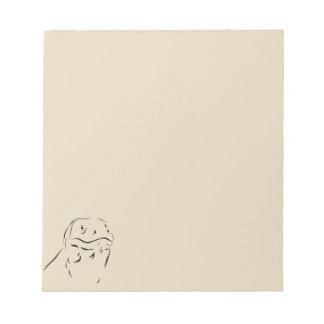 Bloc-note Silhouette de Komodo