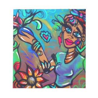 Bloc-note Sirène de Brown