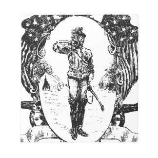Bloc-note Soldat