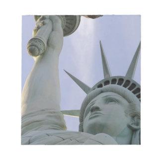 Bloc-note Statue de la liberté des Etats-Unis de liberté de