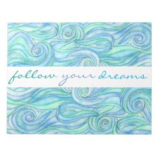 Bloc-note Suivez vos rêves