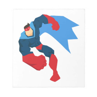 Bloc-note Super héros dans l'action