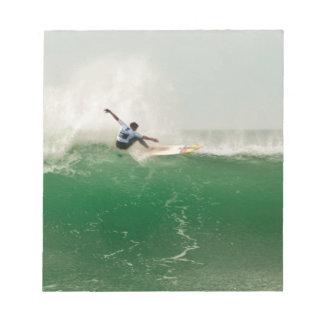 Bloc-note Surf à Biarritz