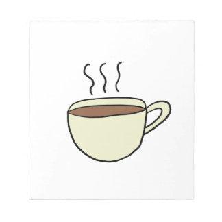 BLOC-NOTE TASSE DE CAFÉ MIGNONNE