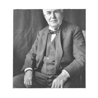 Bloc-note Thomas Edison