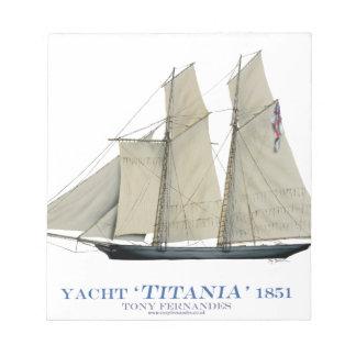 Bloc-note Titania 1851