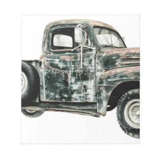 Bloc-note Transport de véhicule des Etats-Unis d'Oldtimer de