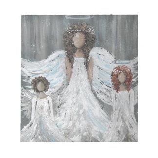 Bloc-note Trois anges