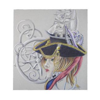 Bloc-note Une vie de pirates