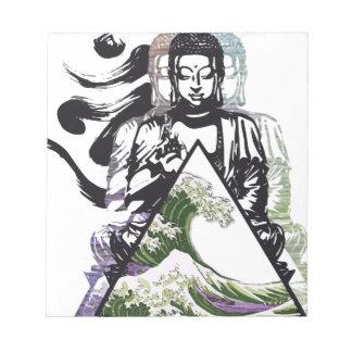 Bloc-note vague 2 de Bouddha