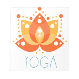 Bloc-note Yoga