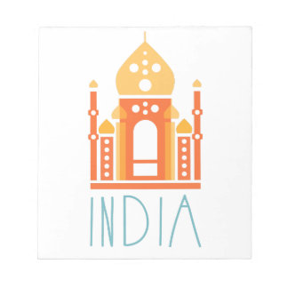 Bloc-note Yoga de l'Inde