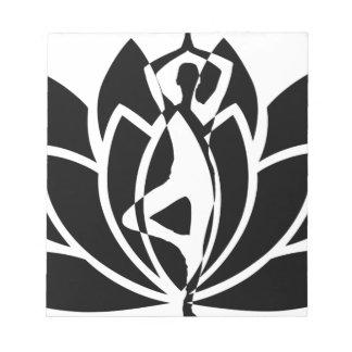 Bloc-note Yoga Lotus
