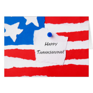 Bloc - notes de bon thanksgiving carte de vœux