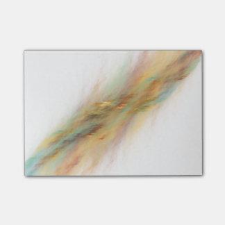 Bloc-notes de post-it d'hélice de galaxie