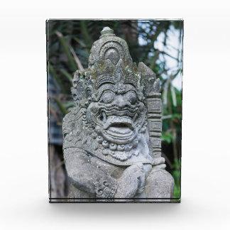 Bloc Photo Statue de Dieu de Balinese