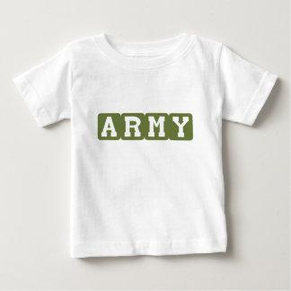 Blocs d'armée (vert) t-shirt pour bébé